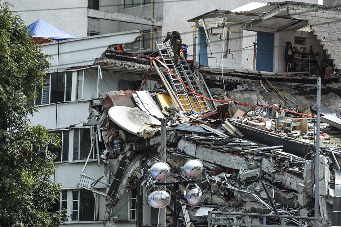 El edificio de Álvaro Obregón 286 se derrumbó en el sismo del 19S de 2017.