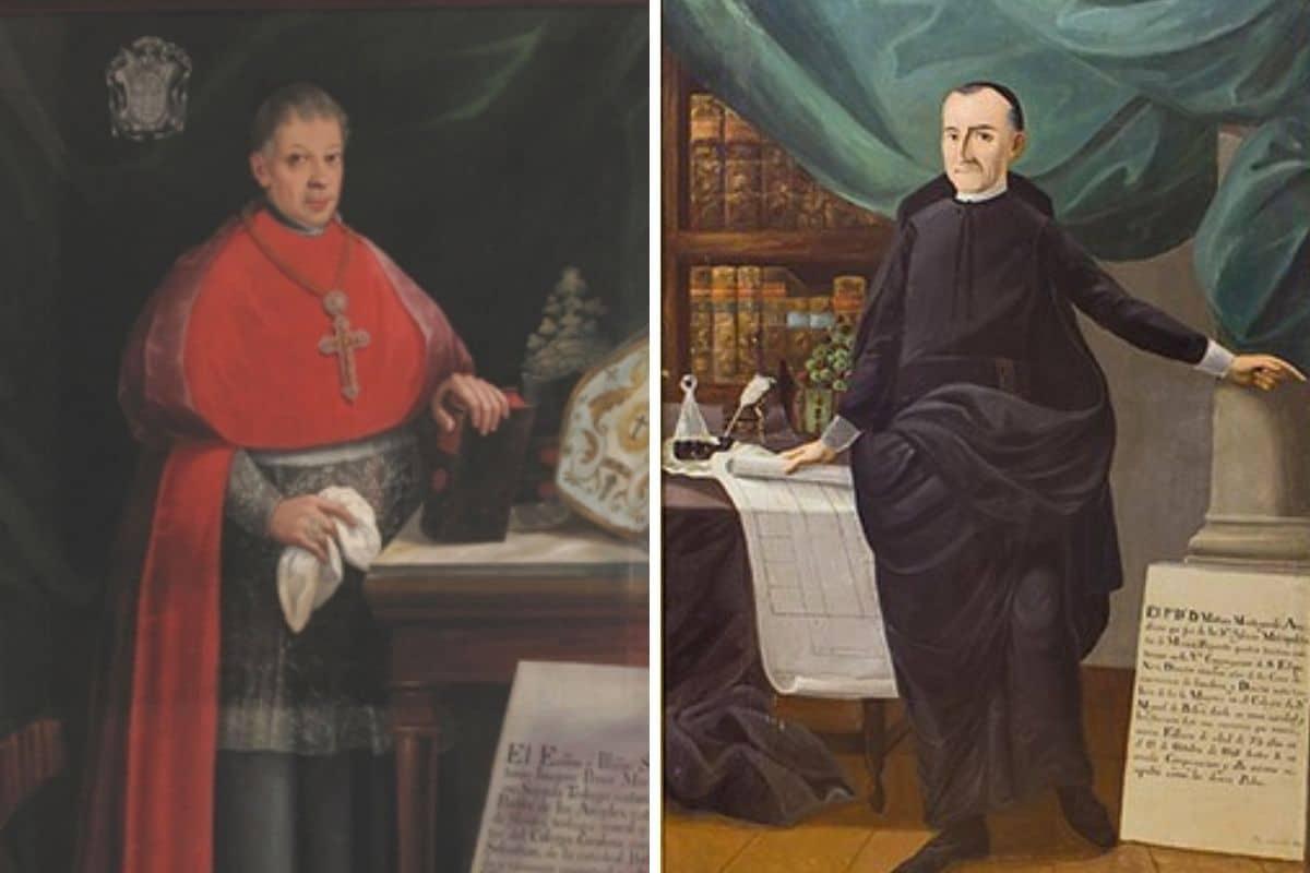 Ellos son los dos clérigos que firmaron el Acta de Independencia