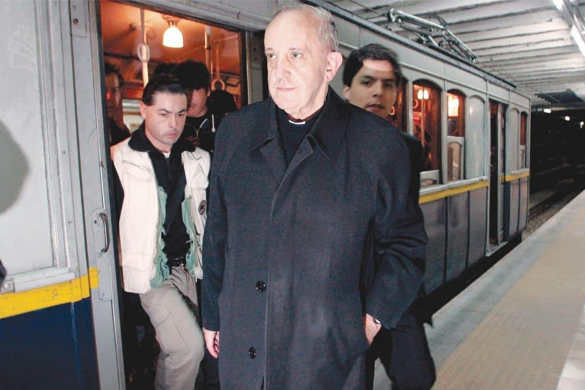 Papa Francisco, impulsor de la Iglesia en salida desde su época de Arzobispo de Buenos Aires. Foto: www.lanacion.com.ar