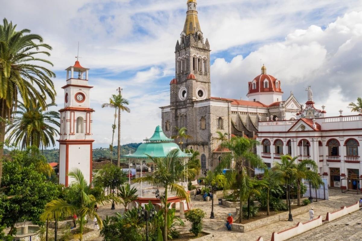 Parroquia de San Francisco de Asís en Cuetzalan, Puebla.