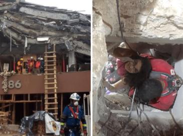 """19S: """"Me agarré de la fe"""", así sobrevivieron 36 horas bajo los escombros"""