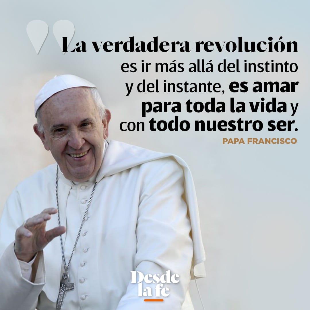 Frase del Papa Francisco en Eslovaquia.