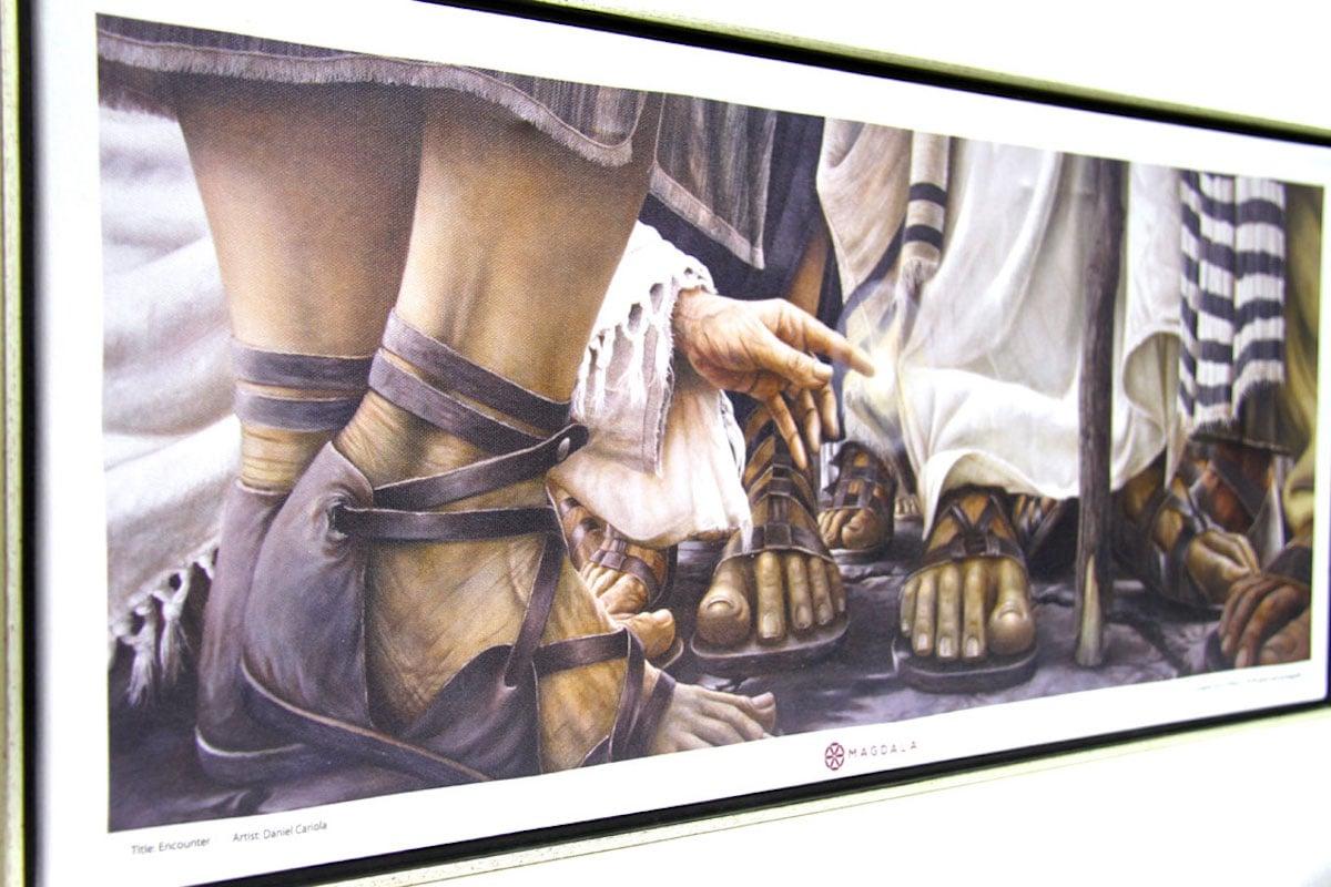 La hemorroisa, de Daniel Cariola, Magdala (Tierra Santa)