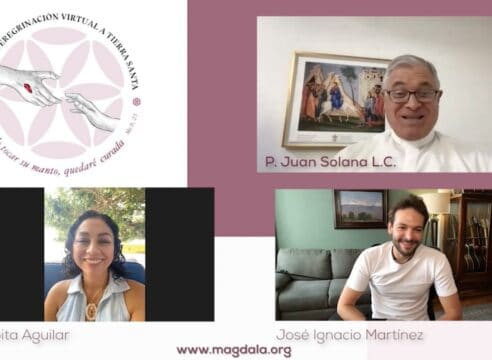 ¡La peregrinación virtual de sanación por Tierra Santa ya tiene himno!