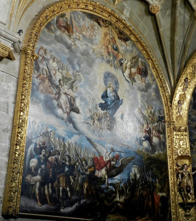 La Mujer del Apocalipsis en la Catedral de México