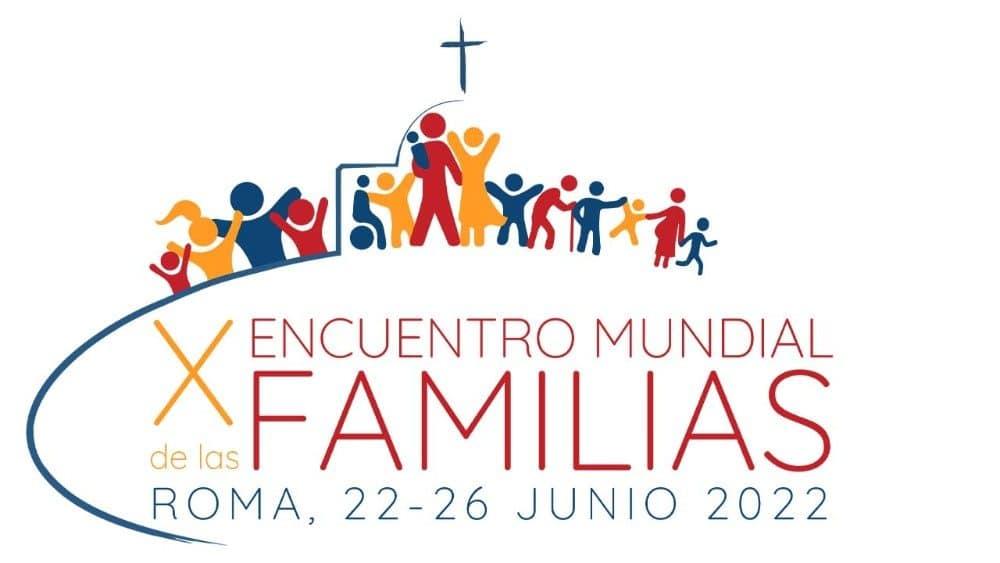 Imagen oficial del X Encuentro Mundial de las Familias 2022.