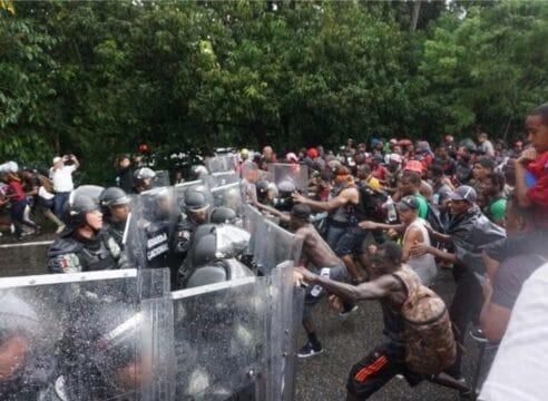 Así respondió la Iglesia tras las agresiones a migrantes en Chiapas