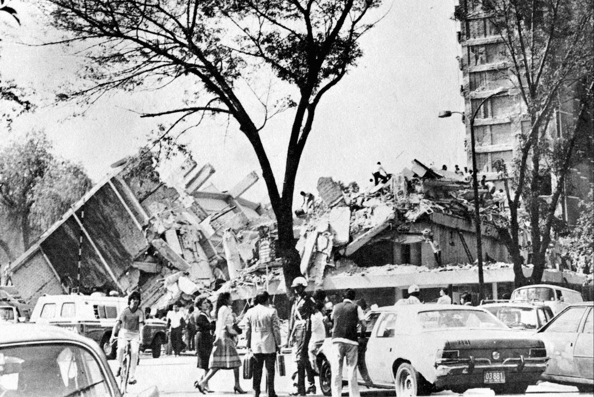 El Multifamiliar Juárez es uno de los edificios que se derrumbó en el sismo del 19 de septiembre de 1985.