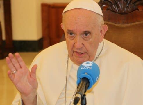 """El Papa sobre los rumores de su renuncia: """"Nunca pasó por mi cabeza"""""""