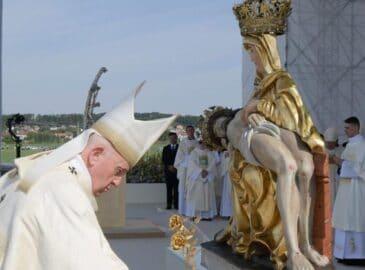 3 lecciones de fe de la Virgen María, según el Papa Francisco