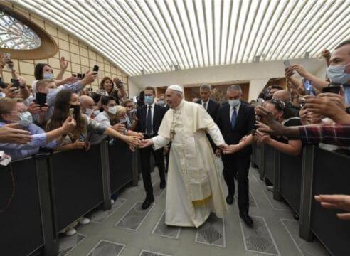 """Papa Francisco: """"Todos somos iguales en Cristo"""""""