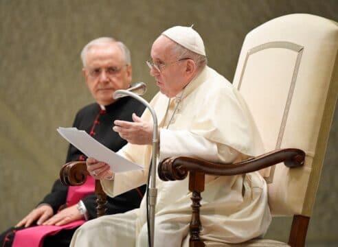 Papa Francisco: Que nuestra fe no se base solo en cumplir preceptos