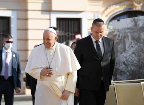 Papa Francisco: católicos y judíos estamos unidos contra toda violencia