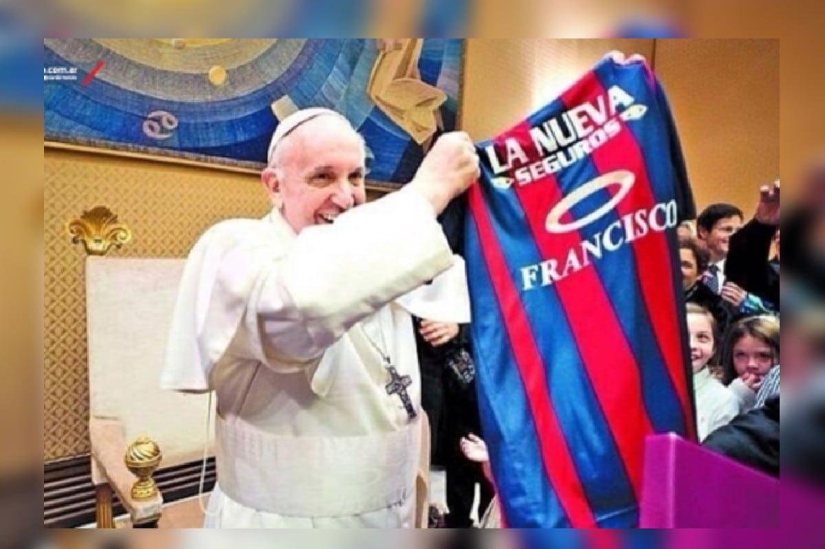 Papa Francisco. Foto: sanlorenzo.com.ar