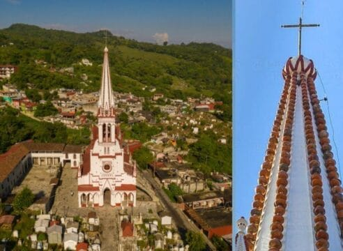 Conoce la Iglesia de los Jarritos, el santuario de Guadalupe en Cuetzalan