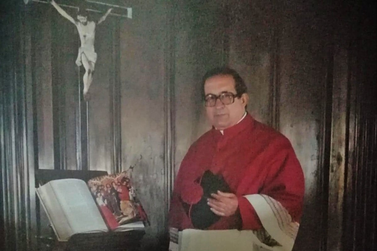 P. Sergio Román Del Real, un hombre sabio (Q.E.P.D)