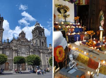 Día de Muertos: Catedral de México tendrá ofrenda y recorridos turísticos