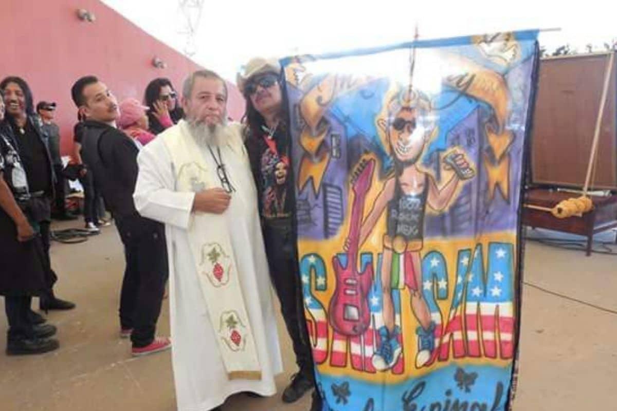 Padre Matus. Foto: Pastoral Urbana MX: