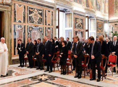 Papa Francisco: Con la objeción de conciencia no se negocia