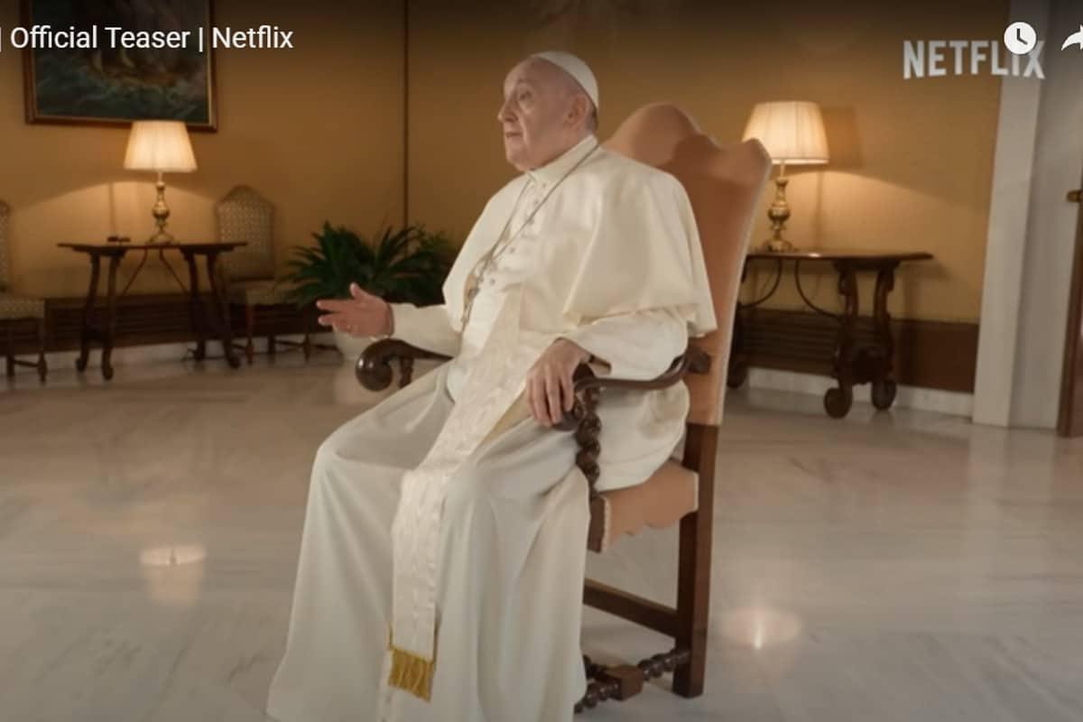 Historias de una Generación, el Papa protagoniza una serie en Netflix