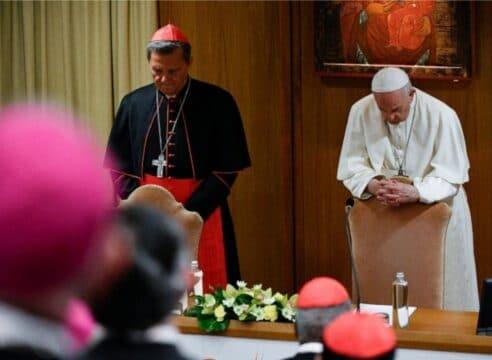 Esta es la oración del Papa Francisco para el Sínodo de la Sinodalidad