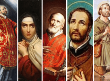 En el 2022 se cumplen 400 años de la canonización de 5 grandes santos
