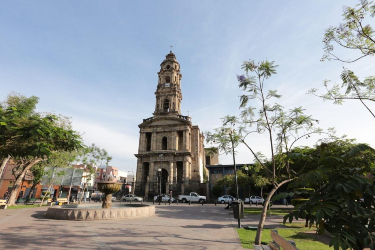 El Santuario San José de Gracia en el centro de Guadalajara.