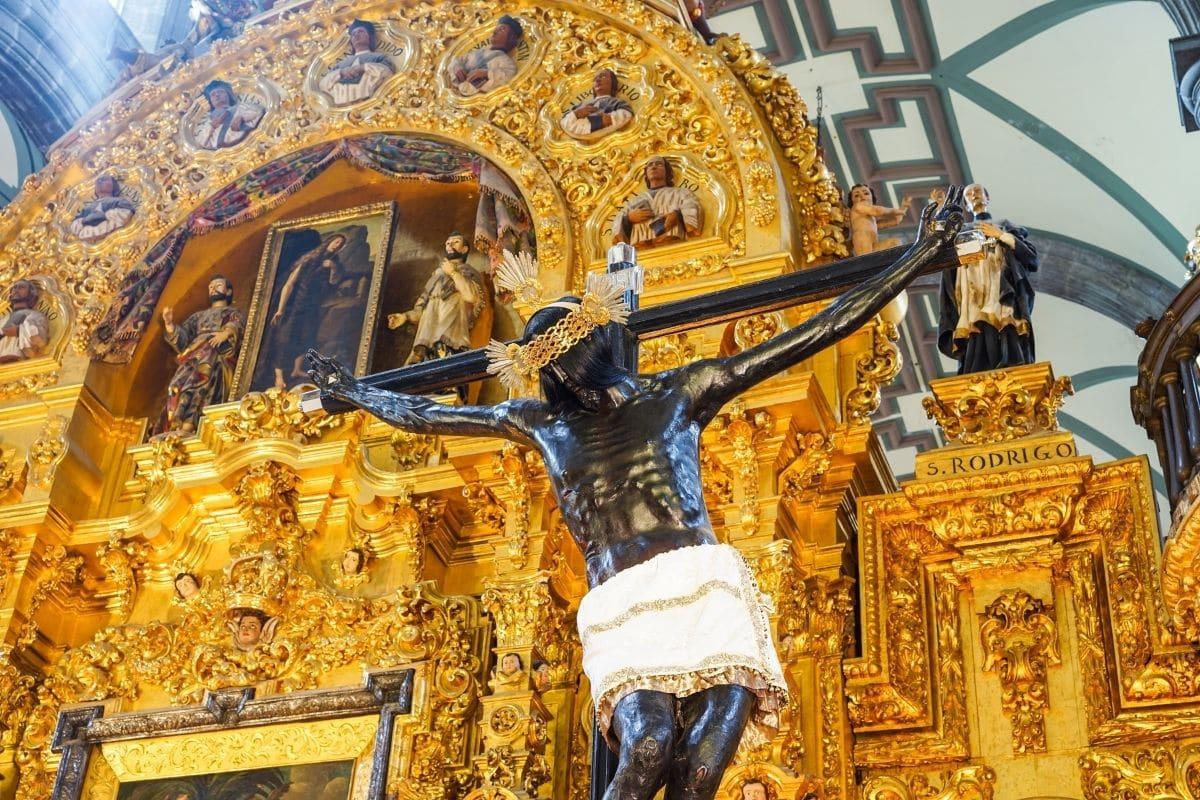 La leyenda del Señor del Veneno en la Catedral de México